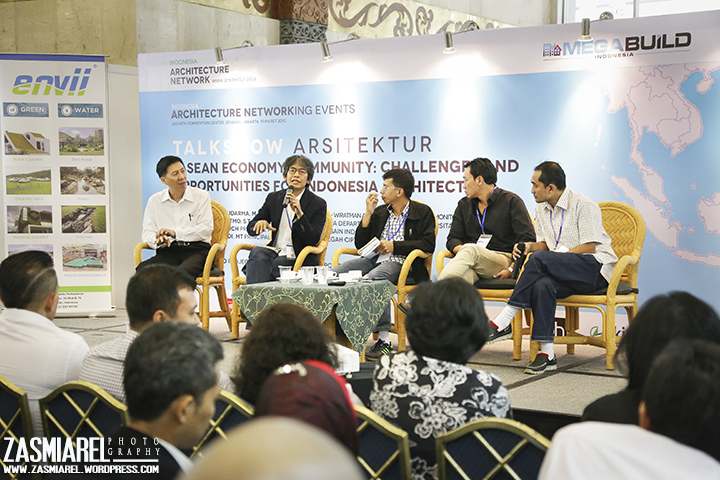 Talkshow ASEAN Community Opportunities for Architects