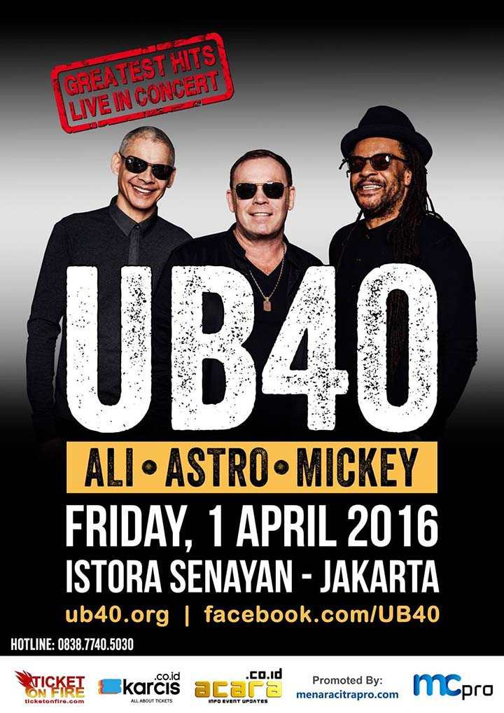 UB40: GREATEST HITS LIVE IN CONCERT