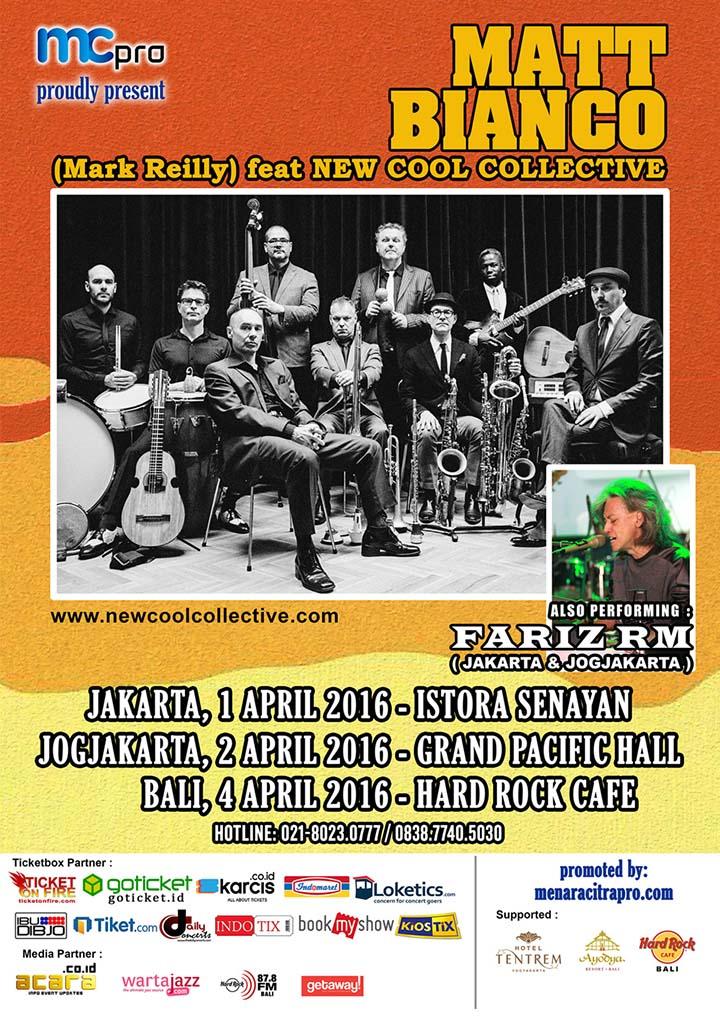 MATT BLANCO Indonesia Tour