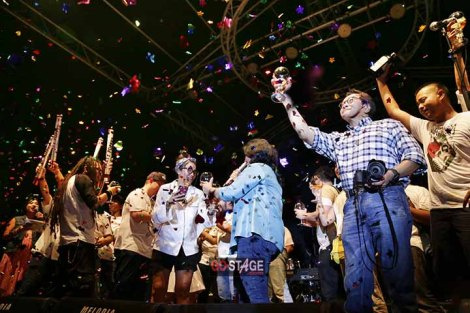 Meriahnya Ampera Ria Safari HUT Rolling StoneIndonesia