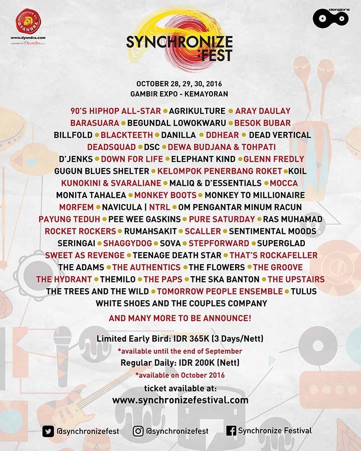 SYNCHRONIZE FESTIVAL 2016