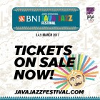 Jakarta International BNI Java Jazz Festival 2017 – Tickets Now on Sale!