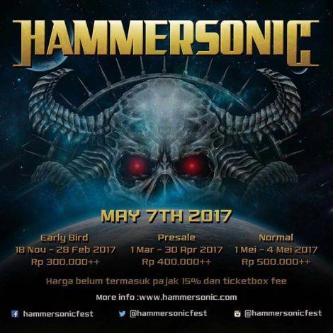 Hammersonic 2017 Kembali AkanDigelar!