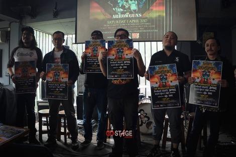 Jakarta Rockulture 2017: Perayaan Kultur Musik Rock dan Metal TanahAir