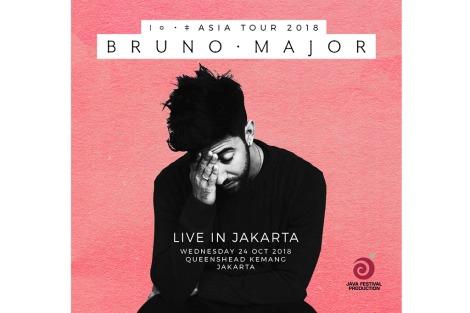 Bruno Major Akan Gelar Konser DiJakarta