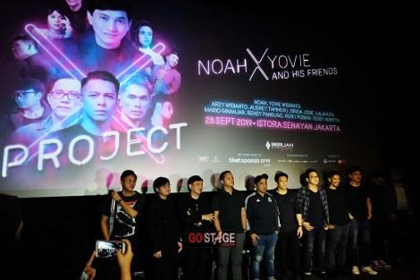10 Tahun Berkiprah Berlian Entertainment Persembahkan Konser Project X: Noah x Yovie & HisFriends
