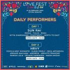 Mulai Diselenggarakan Hari Ini – Inilah Skedul Performers Love Fest2020