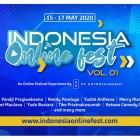 """Yuk Simak Festival Daring Terbesar """"Indonesia Online Fest"""" Selama 15-17 Mei2020"""